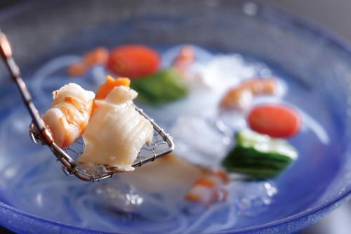 金魚鉢 水貝仕立て