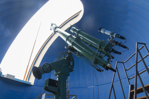 屈折望遠鏡「たいよう」