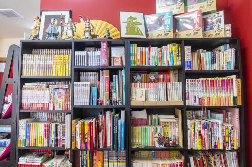 「三国志」関連や横山光輝さんの漫画や資料がたくさん!