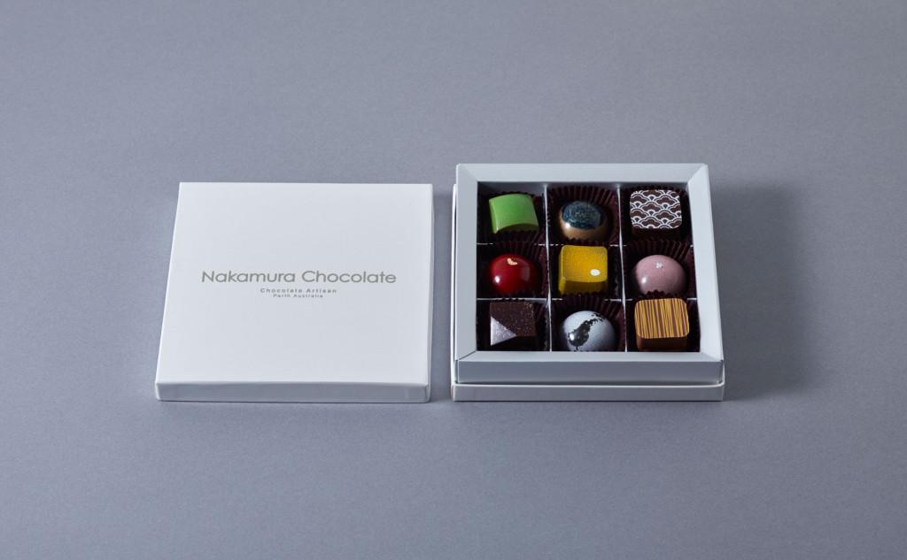 セレブレーションBox(バレンタイン)3,888円(税込) 提供:Nakamura chocolate